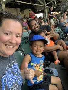 Rebecca  attended Dayton Dragons vs. Great Lakes Loons - MiLB on Jun 13th 2021 via VetTix