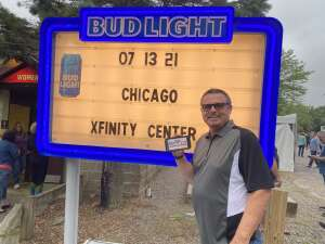 Rob attended An Evening With Chicago and Their Greatest Hits on Jul 13th 2021 via VetTix