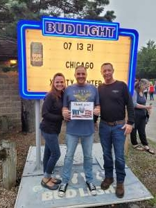 Chicago  attended An Evening With Chicago and Their Greatest Hits on Jul 13th 2021 via VetTix
