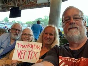Steve Hague attended An Evening With Chicago and Their Greatest Hits on Jul 13th 2021 via VetTix