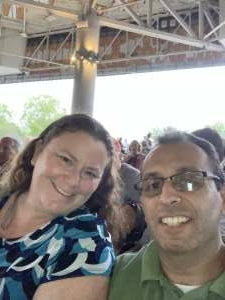 Cesar attended An Evening With Chicago and Their Greatest Hits on Jul 13th 2021 via VetTix