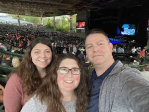 Harry attended An Evening With Chicago and Their Greatest Hits on Jul 13th 2021 via VetTix