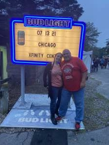 Bill Griswold attended An Evening With Chicago and Their Greatest Hits on Jul 13th 2021 via VetTix