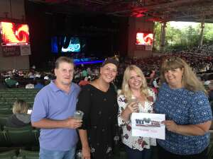 Mhitt  attended An Evening With Chicago and Their Greatest Hits on Jul 13th 2021 via VetTix