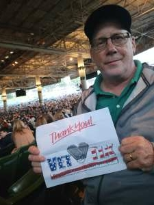 Rick C. attended An Evening With Chicago and Their Greatest Hits on Jul 13th 2021 via VetTix