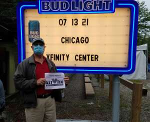 GARY attended An Evening With Chicago and Their Greatest Hits on Jul 13th 2021 via VetTix