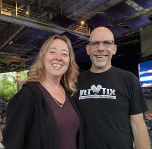 Matt  attended An Evening With Chicago and Their Greatest Hits on Jul 13th 2021 via VetTix