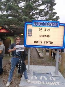 Harry Thompson attended An Evening With Chicago and Their Greatest Hits on Jul 13th 2021 via VetTix