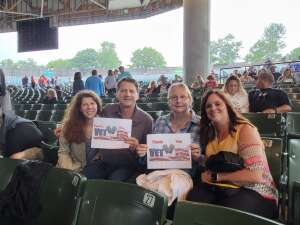 Cassidy Family  attended An Evening With Chicago and Their Greatest Hits on Jul 13th 2021 via VetTix