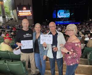 MKC Bowen  attended An Evening With Chicago and Their Greatest Hits on Jul 13th 2021 via VetTix