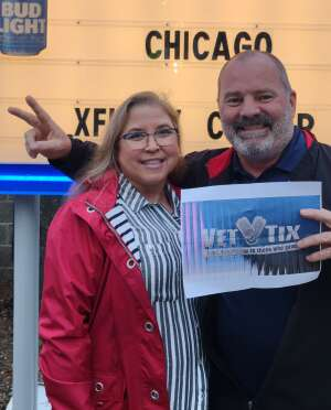 Jason G attended An Evening With Chicago and Their Greatest Hits on Jul 13th 2021 via VetTix