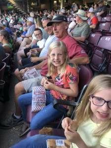Paps attended Dayton Dragons vs. Fort Wayne Tincaps - MiLB on Jun 16th 2021 via VetTix