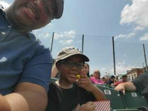 Ryan attended Dayton Dragons vs. Fort Wayne Tincaps - MiLB on Jun 20th 2021 via VetTix