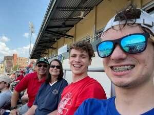 Jamie Sanders attended Dayton Dragons vs. Fort Wayne Tincaps - MiLB on Jun 20th 2021 via VetTix