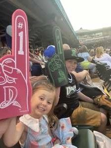 Luke attended Dayton Dragons vs. Fort Wayne Tincaps - MiLB on Jun 20th 2021 via VetTix