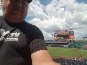 Frank attended Washington Nationals vs. Los Angeles Dodgers - MLB on Jul 4th 2021 via VetTix