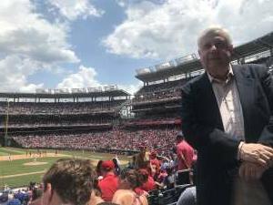 Edgar Russell attended Washington Nationals vs. Los Angeles Dodgers - MLB on Jul 4th 2021 via VetTix