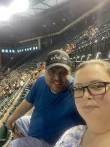 Josh Liska attended Arizona Diamondbacks vs. San Diego Padres - MLB on Aug 13th 2021 via VetTix