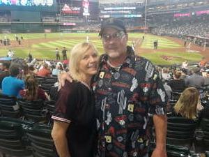 Mark attended Arizona Diamondbacks vs. San Diego Padres - MLB on Aug 13th 2021 via VetTix