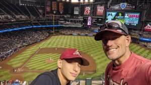 Patrick attended Arizona Diamondbacks vs. San Diego Padres - MLB on Aug 13th 2021 via VetTix