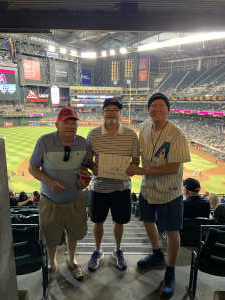 Click To Read More Feedback from Arizona Diamondbacks vs. San Diego Padres - MLB