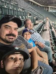 Xavier Calvillo attended Arizona Diamondbacks vs. San Diego Padres - MLB on Aug 13th 2021 via VetTix