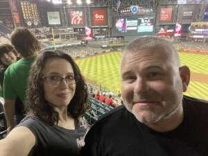 Matt Knollhuff attended Arizona Diamondbacks vs. San Diego Padres - MLB on Aug 13th 2021 via VetTix
