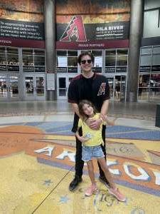 Jose attended Arizona Diamondbacks vs. San Diego Padres - MLB on Aug 13th 2021 via VetTix