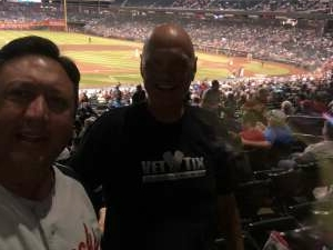 Jerry attended Arizona Diamondbacks vs. San Diego Padres - MLB on Aug 13th 2021 via VetTix