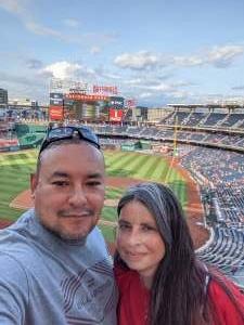 Phillip and Jeanette attended Washington Nationals vs. Los Angeles Dodgers - MLB on Jul 3rd 2021 via VetTix