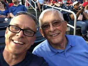 Nats Fan attended Washington Nationals vs. Los Angeles Dodgers - MLB on Jul 3rd 2021 via VetTix