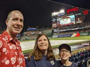 BP attended Washington Nationals vs. Los Angeles Dodgers - MLB on Jul 3rd 2021 via VetTix