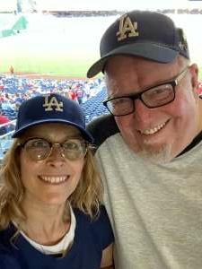 Heidi attended Washington Nationals vs. Los Angeles Dodgers - MLB on Jul 3rd 2021 via VetTix