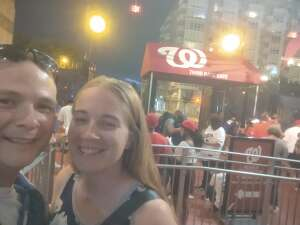 Drew attended Washington Nationals vs. Los Angeles Dodgers - MLB on Jul 3rd 2021 via VetTix