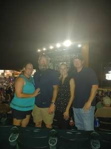 Awesome attended Brad Paisley Tour 2021 on Jul 23rd 2021 via VetTix