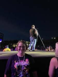 Vickie attended Brad Paisley Tour 2021 on Jul 23rd 2021 via VetTix
