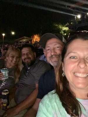 VANESSA RUIZ attended Brad Paisley Tour 2021 on Jul 23rd 2021 via VetTix
