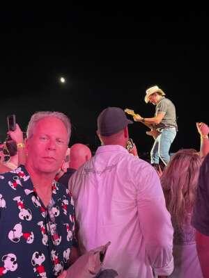 Michael James attended Brad Paisley Tour 2021 on Jul 23rd 2021 via VetTix