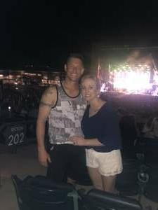 Adam attended Brad Paisley Tour 2021 on Jul 23rd 2021 via VetTix