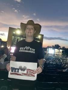 Deanna V. attended Brad Paisley Tour 2021 on Jul 23rd 2021 via VetTix