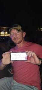 Jonathan Turner  attended Brad Paisley Tour 2021 on Jul 23rd 2021 via VetTix