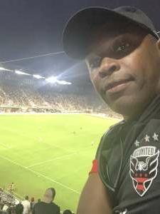 King attended DC United vs. Inter Miami CF - MLS on Jun 19th 2021 via VetTix