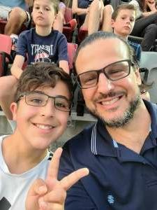 Bert M. attended DC United vs. Inter Miami CF - MLS on Jun 19th 2021 via VetTix