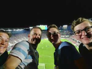 Jeff S attended DC United vs. Inter Miami CF - MLS on Jun 19th 2021 via VetTix