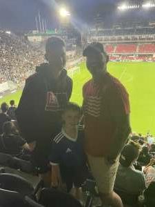 Kirstin Best attended DC United vs. Inter Miami CF - MLS on Jun 19th 2021 via VetTix