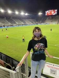 Go navy!  attended DC United vs. Inter Miami CF - MLS on Jun 19th 2021 via VetTix
