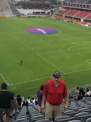 DJ attended DC United vs. Inter Miami CF - MLS on Jun 19th 2021 via VetTix