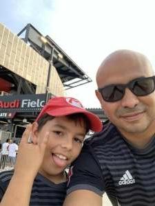 Javier attended DC United vs. Inter Miami CF - MLS on Jun 19th 2021 via VetTix