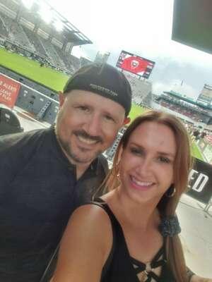 Pete & Lori attended DC United vs. Inter Miami CF - MLS on Jun 19th 2021 via VetTix