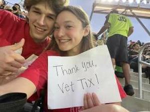 Dee attended DC United vs. Inter Miami CF - MLS on Jun 19th 2021 via VetTix